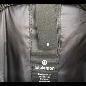 lululemon athletica Jackets & Coats - Lululemon Black Vest Size 8